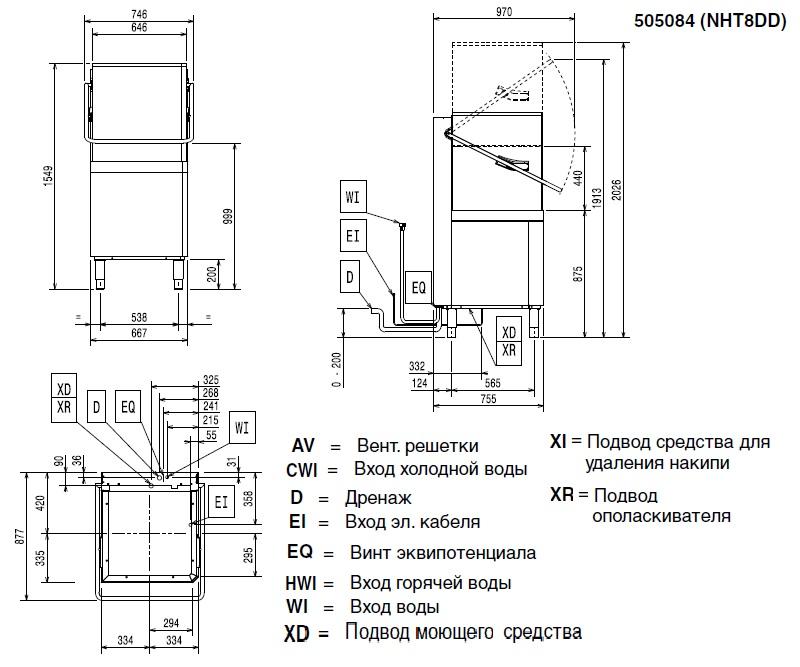scheme NHT8DD