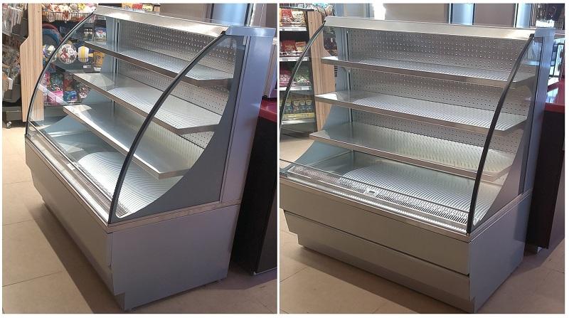 Горка холодильная Вена